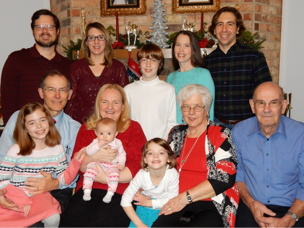 Cole Family - 25 December 2016