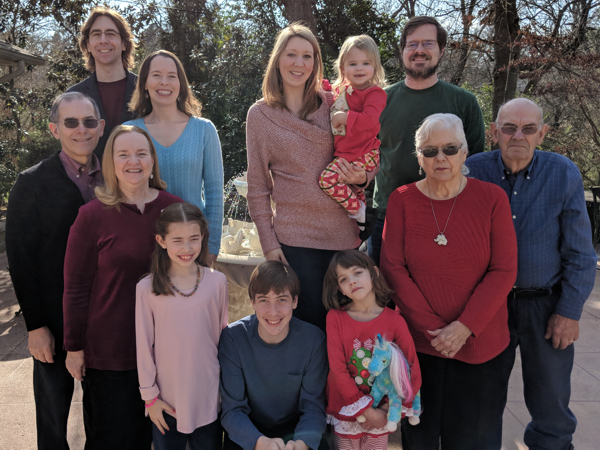 Cole Family - 25 December 2018