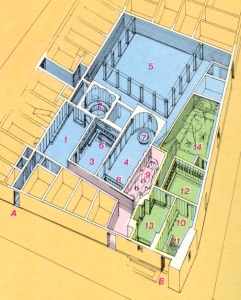 Peter Zumthor Therme Vals moreover Modern Flat Roof Villa besides Tiny Half Bath likewise Plantation Resort Myrtle Beach Floor Plans together with Ancient Roman Houses. on roman bath house floor plan